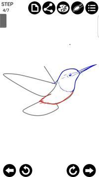 How To Draw Birds screenshot 4
