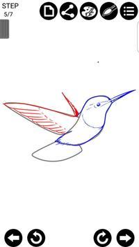 How To Draw Birds screenshot 5