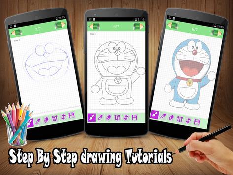 Learn to Draw Doraemon apk screenshot