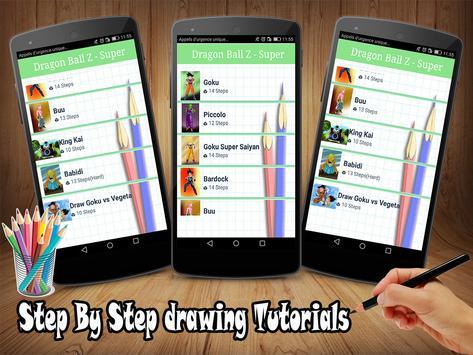 How To Draw DBZ apk screenshot
