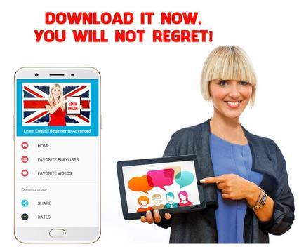 Learn English Conversation Beginner to Advanced screenshot 15