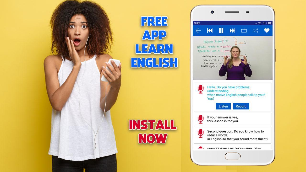 Learn English Speaking with Video Subtitles for Android