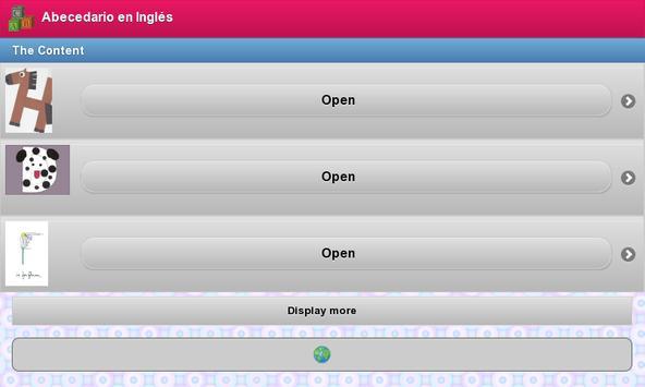 Abecedario en Ingles apk screenshot