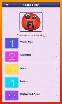 Learn Flash CC screenshot 4