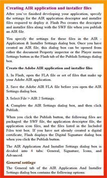 Learn Flash CC apk screenshot