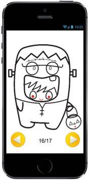 Learn how to Draw Cute Kids in Halloween Costumes screenshot 1
