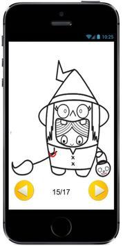 Learn how to Draw Cute Kids in Halloween Costumes apk screenshot