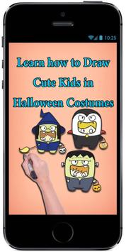 Learn how to Draw Cute Kids in Halloween Costumes screenshot 3
