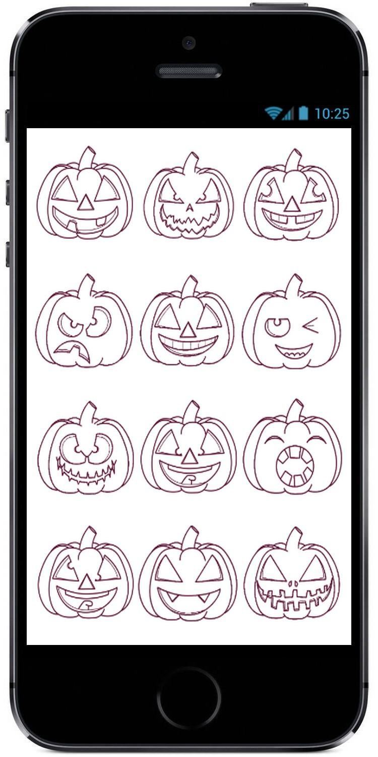 How to Draw Cartoon Pumpkin for Kids on Halloween poster