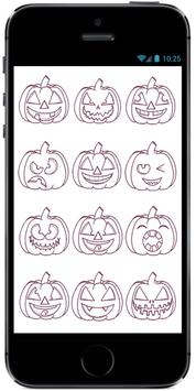 How to Draw Cartoon Pumpkin for Kids on Halloween apk screenshot