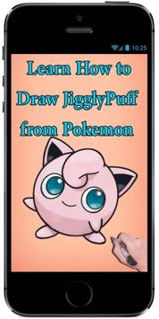 How to Draw Cute Baby JigglyPuff from Pokemon screenshot 2