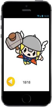 How to Draw Chibi kawaii Cute Baby Thor Marvel screenshot 1