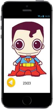 How to Draw Cute Baby Superman from Superheroes poster
