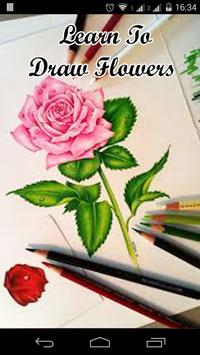 Learn To Draw Flowers poster