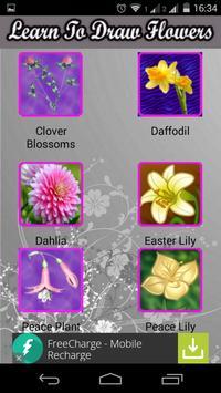 Learn To Draw Flowers apk screenshot