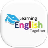 Learning English together for kids icon