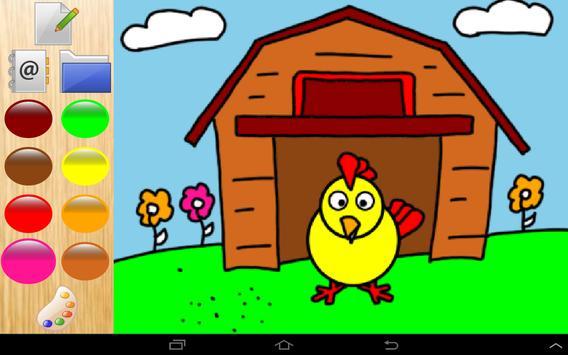 Colors farm animals! pig & cow apk screenshot
