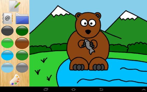 Colors cute zoo animals 4 kids screenshot 5