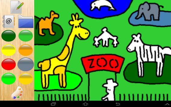 Colors cute zoo animals 4 kids screenshot 1