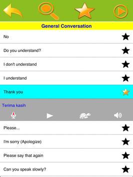 Speak Indonesian apk screenshot