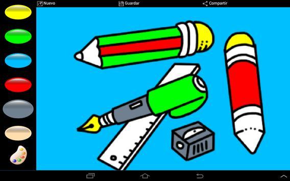 Colorful Back to School 4 kids apk screenshot