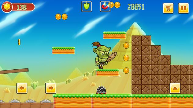 Super mr Pean Adventure World apk screenshot