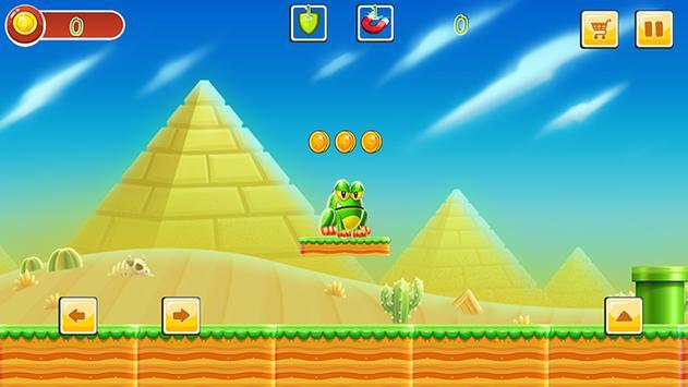 Super mr Pean Adventure World screenshot 10