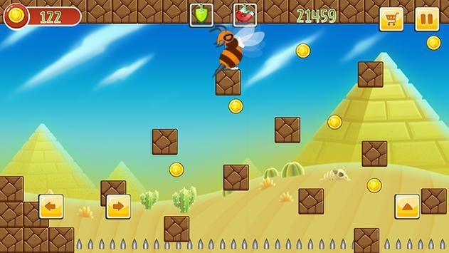 Super mr Pean Adventure World screenshot 1