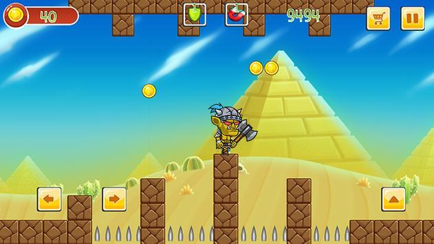 Super mr Pean Adventure World screenshot 3