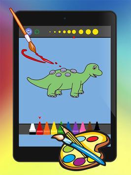 Dino Coloring drawing book apk screenshot
