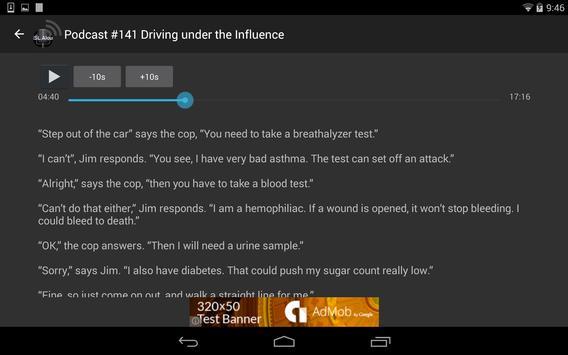 ESL Aloud Learning Podcast apk screenshot