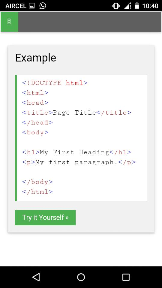 Full html tags download