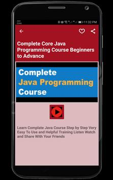 Learn Java Tutorials apk screenshot