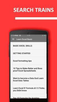 Learn Excel Basic – Offline Course 2017 screenshot 1