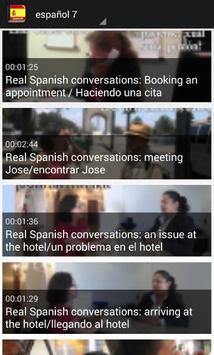 تعلم اللغة الاسبانية بلس screenshot 4
