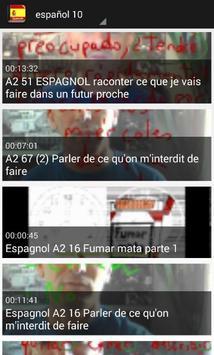 تعلم اللغة الاسبانية بلس screenshot 5