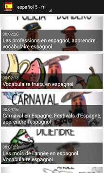 تعلم اللغة الاسبانية بلس screenshot 6