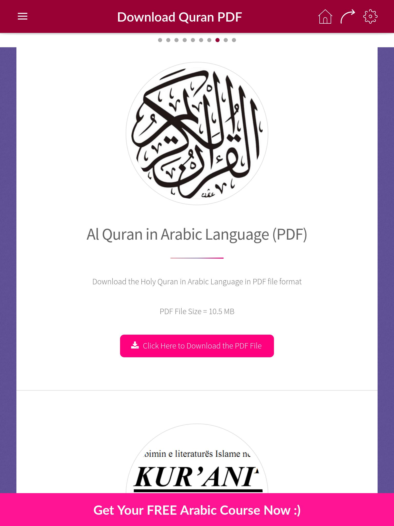 Ali Alhuthaifi - Holy Quran for Android - APK Download