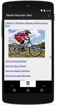 Learn Riding Mountain Bike screenshot 20