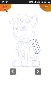 Learn To Draw Paw Patrol Pro poster