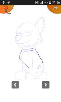 Learn To Draw Paw Patrol Pro apk screenshot