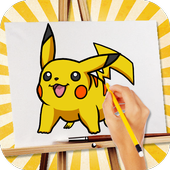 Download Game Family android  intelektual Learn To Draw Pokemon free