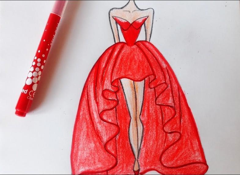 Lerne Kleider zu zeichnen für Android - APK herunterladen