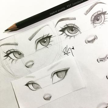 Learn to Draw Eyes screenshot 3