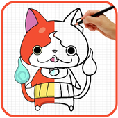 How To Draw Yo Kai Watch characters icon