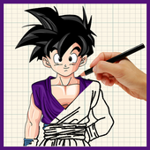How To Draw DBZ Characters icon