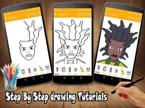 How To Draw Inazuma Eleven Go screenshot 1