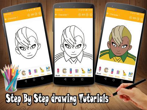 How To Draw Inazuma Eleven Go screenshot 2