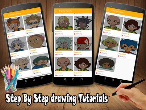 How To Draw Inazuma Eleven Go screenshot 3