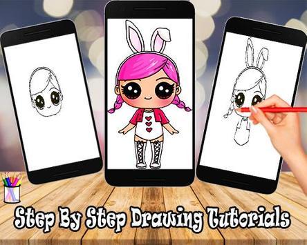 Comment dessiner poupée surprise lol apk screenshot